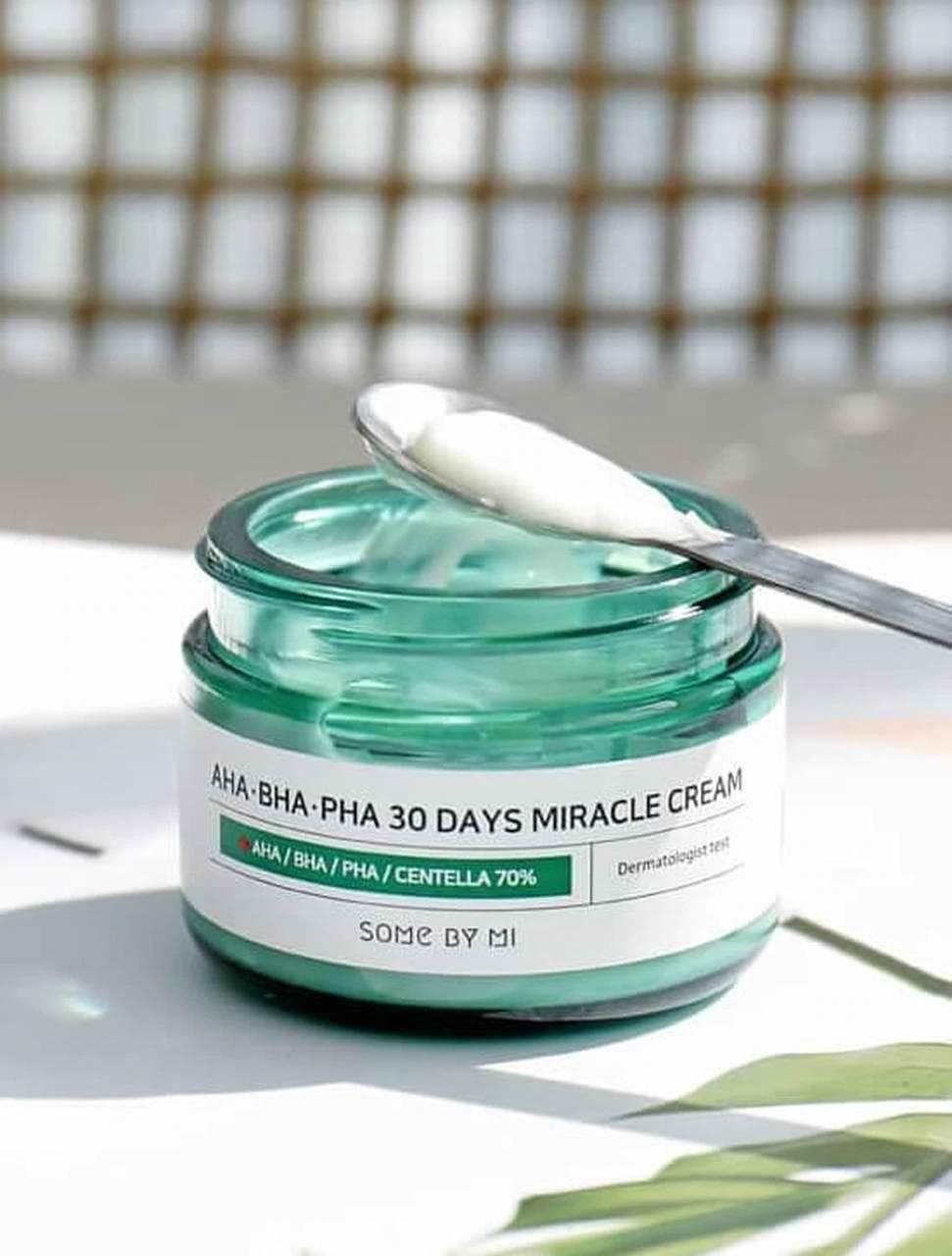 کرم درمان جوش صورت و آکنه میراکل سام بای می اصل