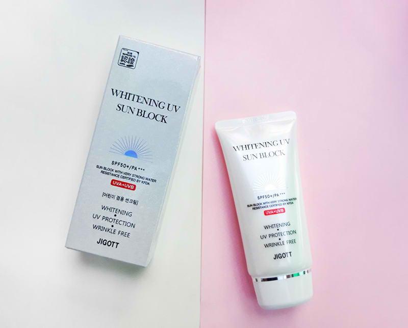 کرم ضد آفتاب ضد چروک و روشن کننده با محافظت کامل جیگات